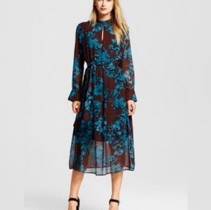 Who What Wear Long Floral Dress